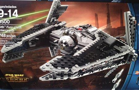 Lego Interceptor Pitch