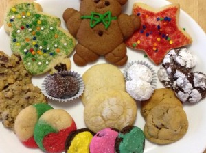 Cropped Christmas Cookies