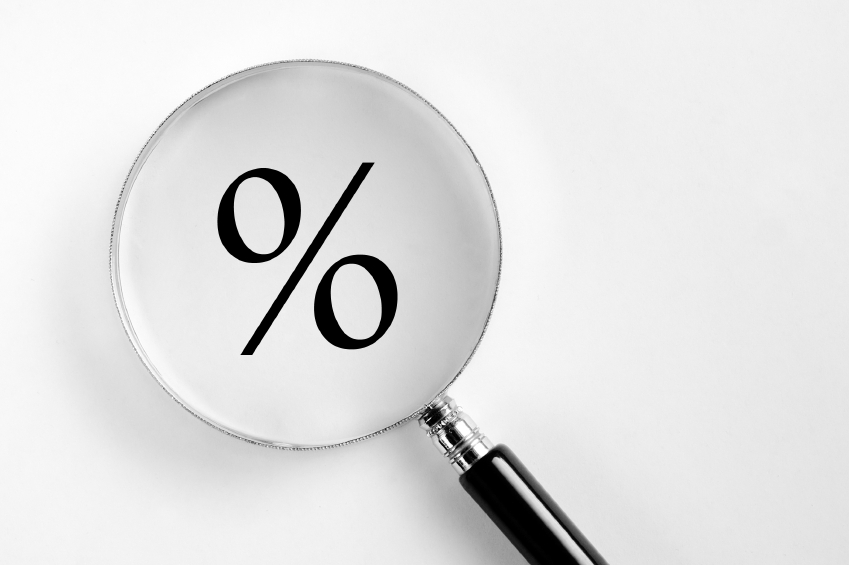 percent magnifying glass