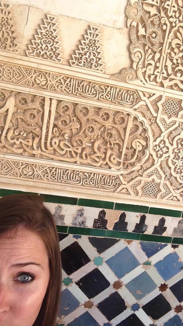 Alix Spain Selfie