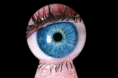 eye-in-keyhole