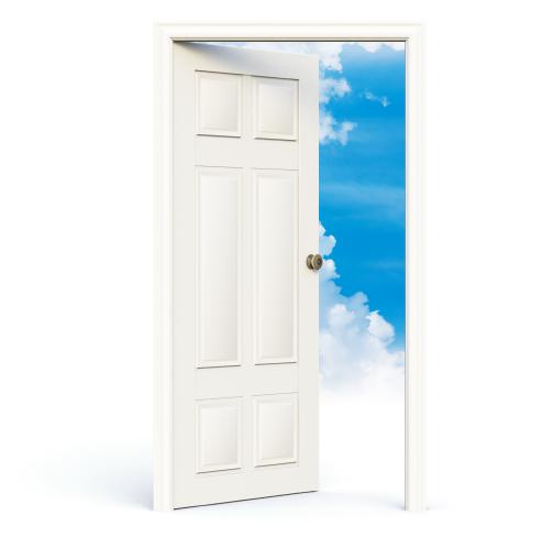 door_white_open_skies