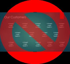 Stop Logo Slides