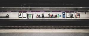 Barcelona metro sagria