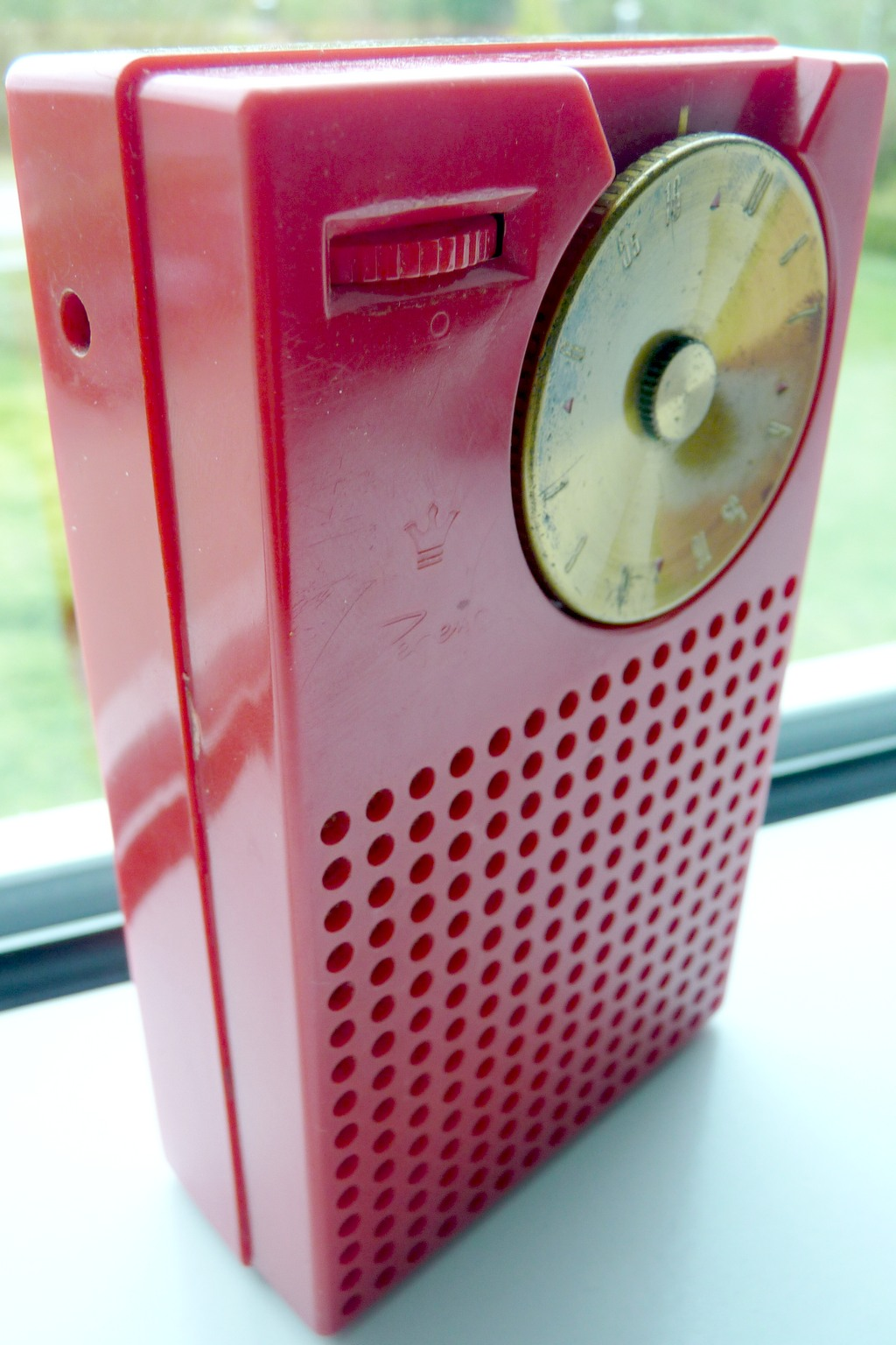 Transistor radio, not exactly leading innovation, but highly effective.