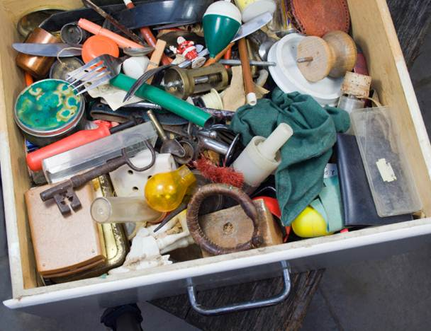 Why risk management needs an it application strategy now for Kitchen junk drawer