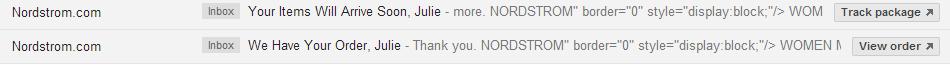 Email inbox capture