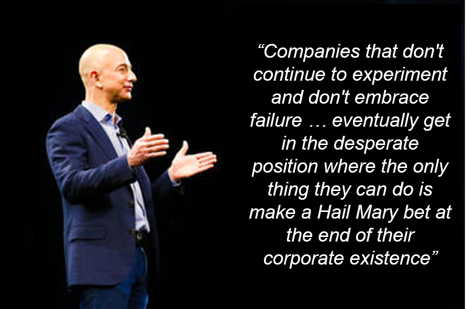 Jeff Bezos on Embracing Failure and Why B2Bs Should Pay Attention
