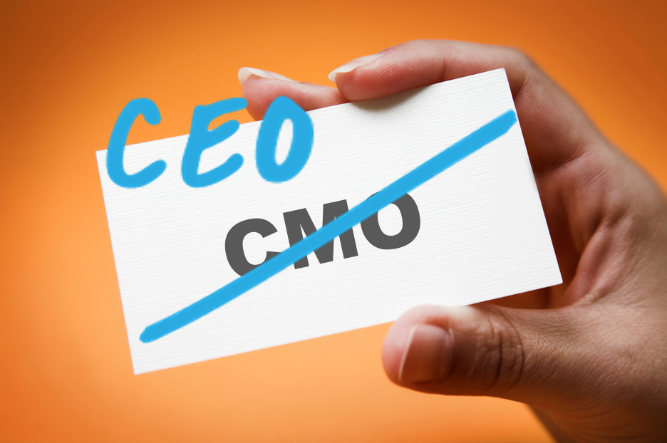 CMO Transition to CEO Business Card