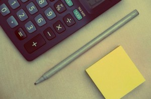 calculator-budgeting