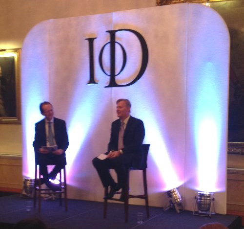 Simon Calver at the IoD November 2013