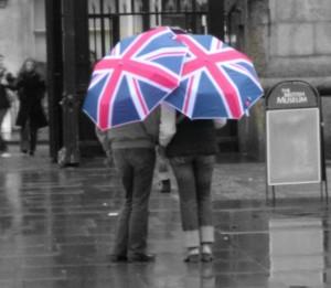 union jack umbrellas