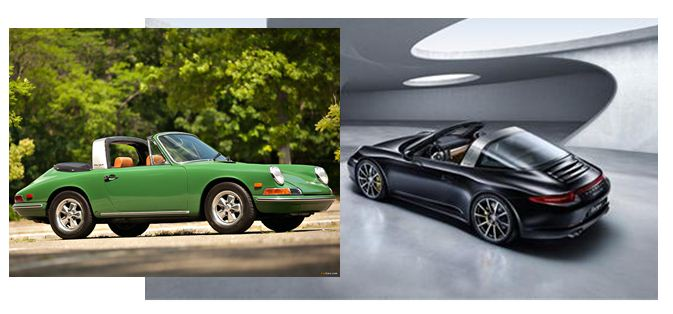 R&D IT Should Study the Porsche 911 Targa - Michael Shanler O Ld Porsche Vs New on