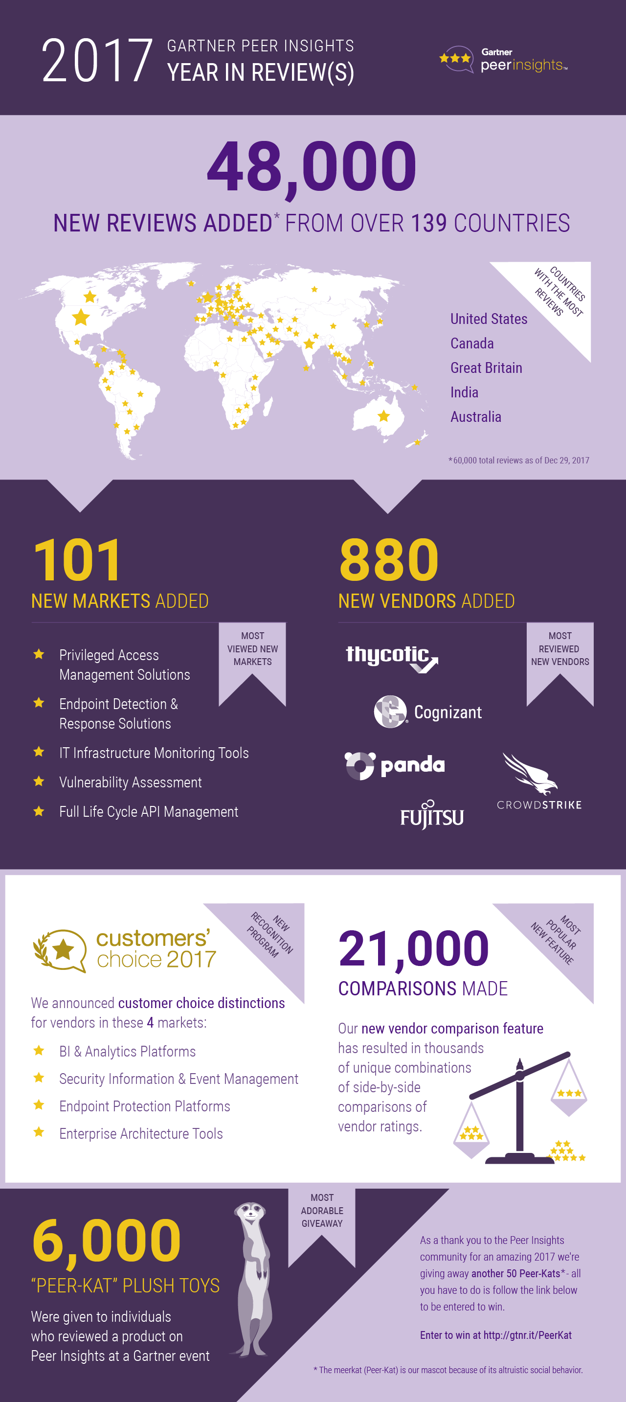 Peer Insights 2017 Infographic