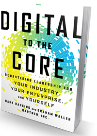 Image of digital to the core book related to digital strategy