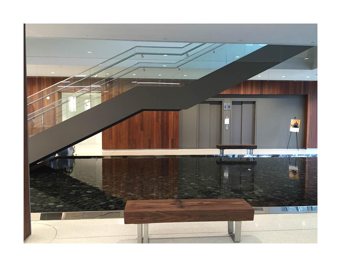 Photo of the lobby at Mercy Virtual.