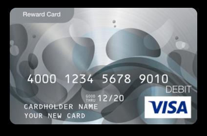 giftcard visa icon