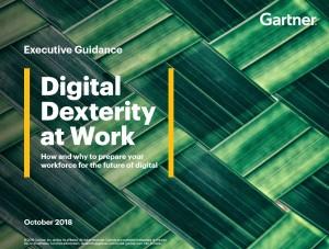 Gartner Digital Dexterity Report 1018 Cover