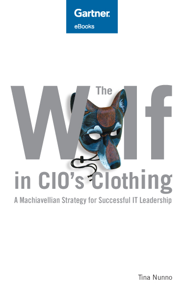 The Wolf in CIO Clothing cover composition
