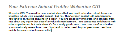 Wolverine CIO