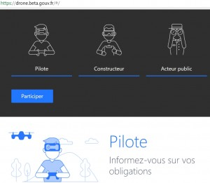 French government uses platforms and APIs to better regulate the public use of drones.
