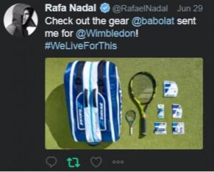 rafa tweet