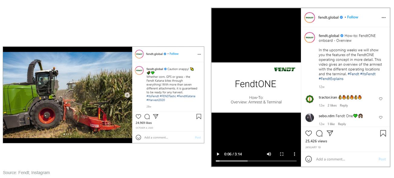Fendt's Instagram Posts
