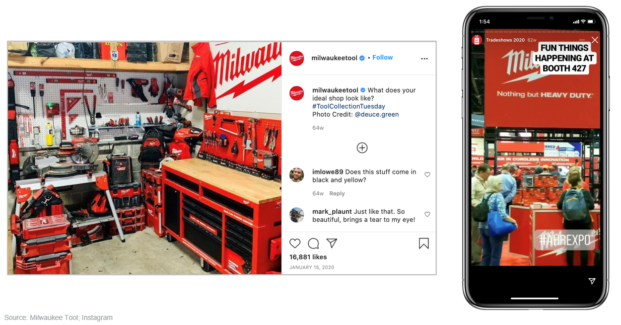 Milwaukee Tool's Instagram Posts